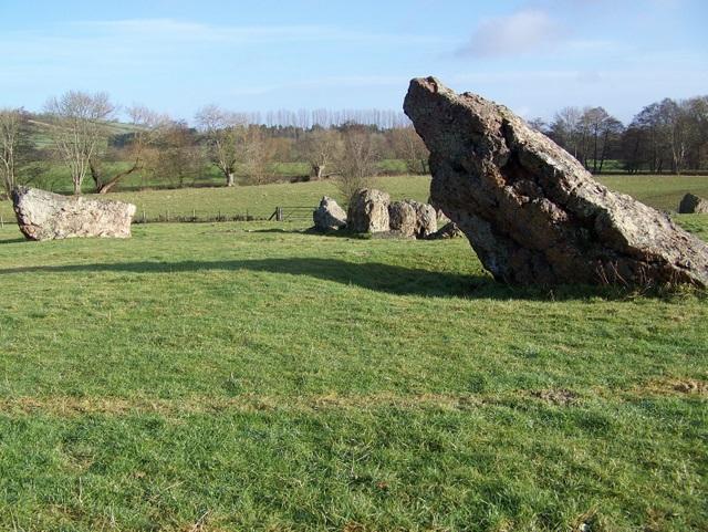 The stones at Stanton Drew