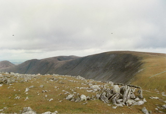 Towards High Street from the summit of Thornthwaite Crag