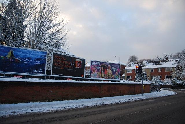 Advertising Hoardings, Grosvenor Bridge