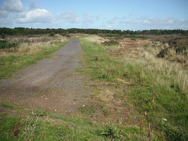 Disused road, Irvine