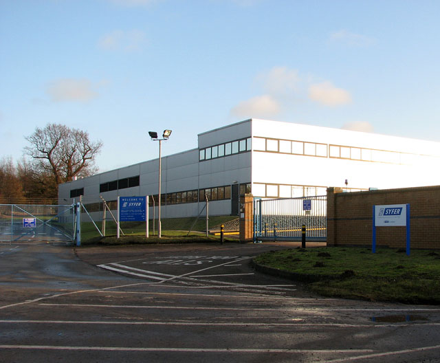 Syfer Technology Ltd on the Old Stoke Road
