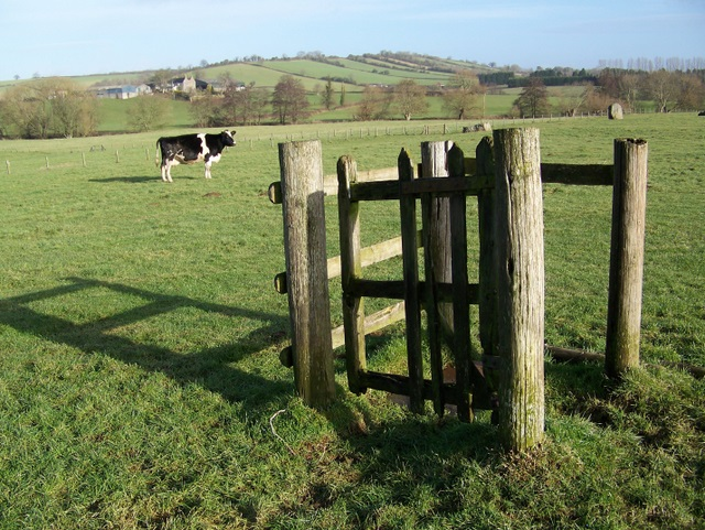 Kissing gate, Stanton Drew