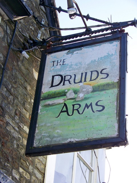 Sign for the Druids Arms