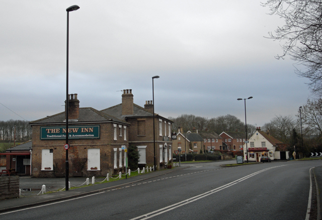 The A18 through Great Limber
