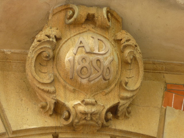 Date Stone on Building in Rosslyn Hill, London NW3