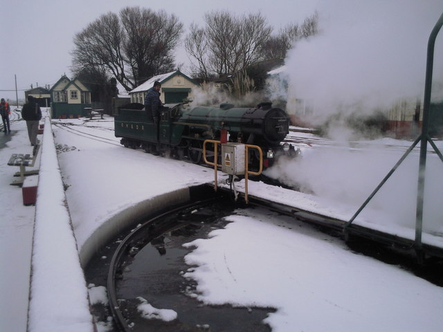 Southern Maid in the snow
