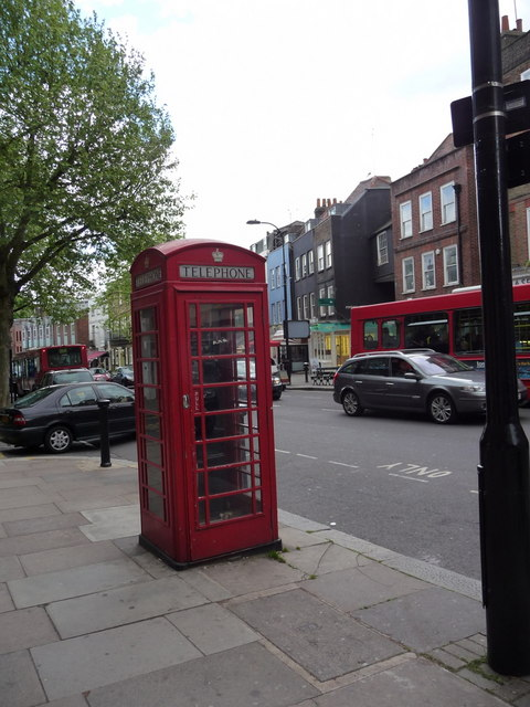 Telephone Box, Rosslyn Hill, London NW3