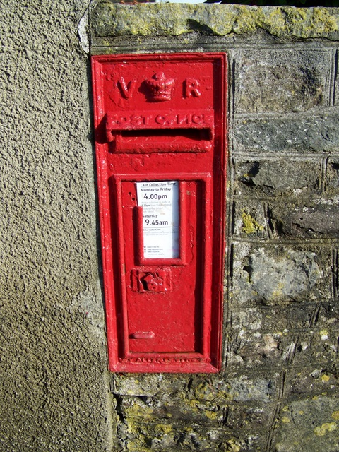 Postbox, New Town