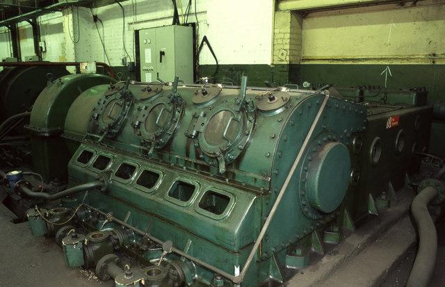 Meaty hydraulic pump, Avesta Cyclops Works.