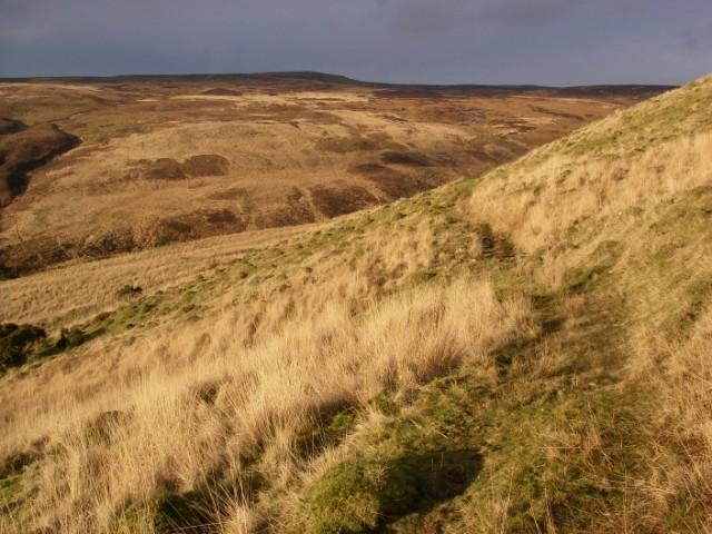 Cwm Pedol in January sunshine