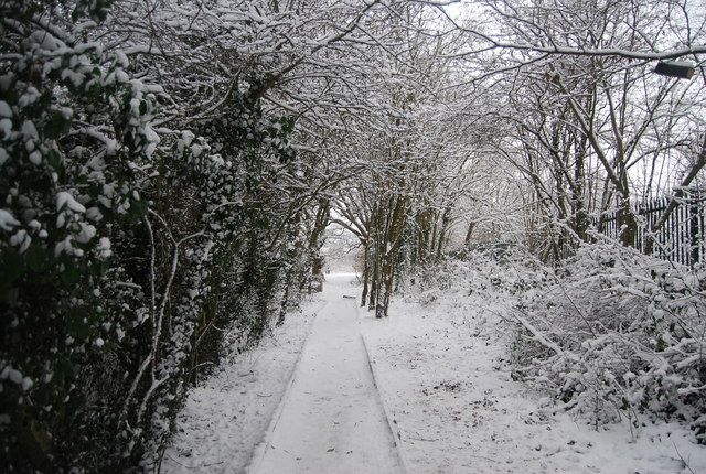 Path in St John's Recreation Ground