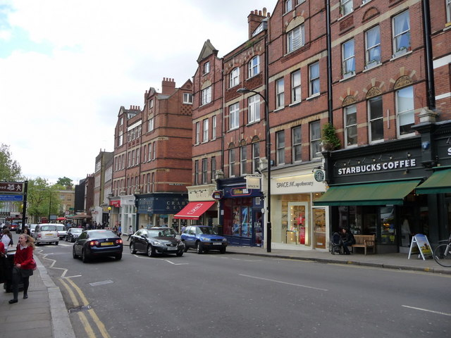 Hampstead High Street, London NW3