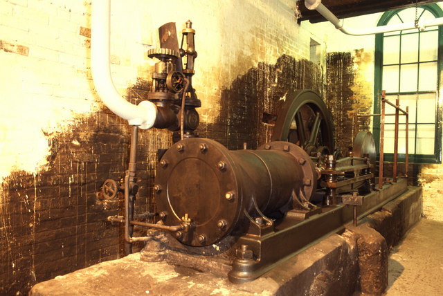 Steam Engine, Bursledon Brickworks