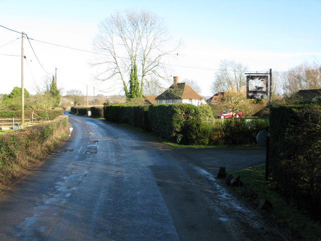 View along Calleywell Lane