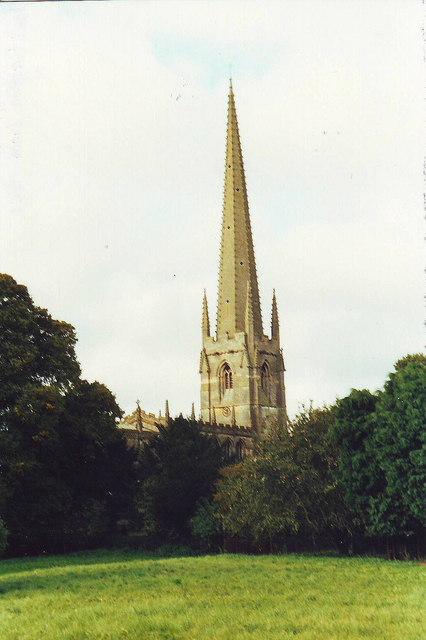 Spire of St. Helen's, Brant Broughton