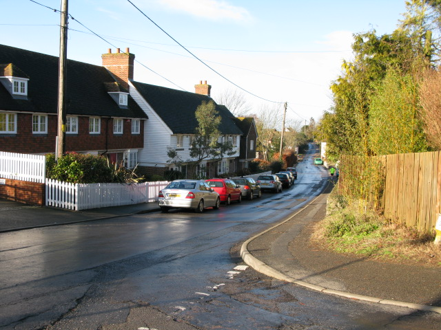 Junction of Calleywell Lane with Bank Road
