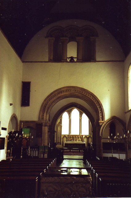 Interior of St. Lawrence, Castle Rising, Norfolk