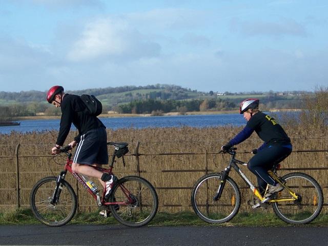 Cyclists, Herriotts Bridge