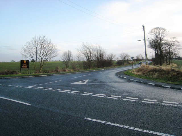 Road junction at Hesleden Road
