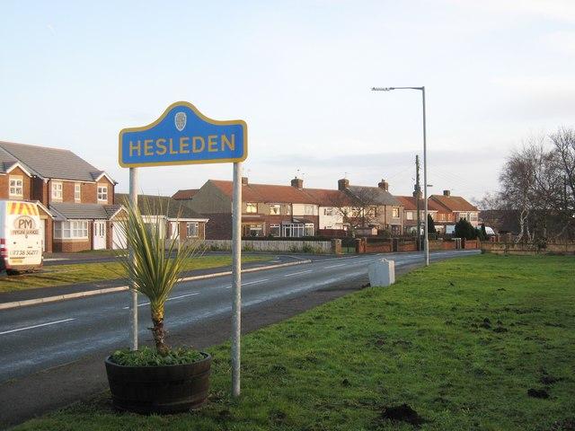Road into Hesleden