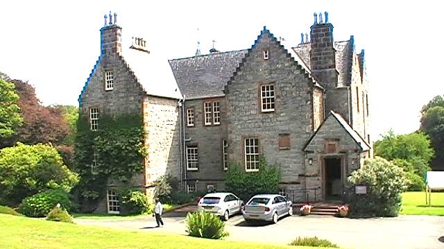 Front elevation - Shambellie House, Dumfries & Galloway.. period costume museum