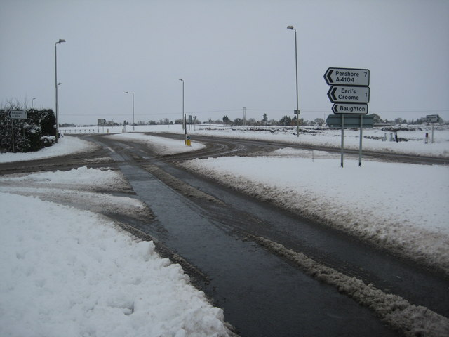 A38 junction with the A4104