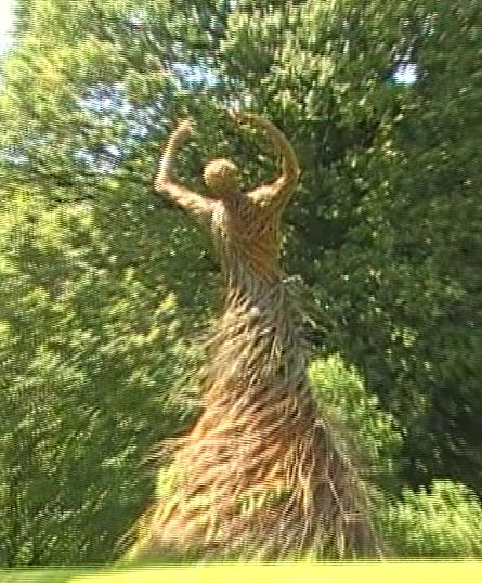 Shambellie House.. wicker lady
