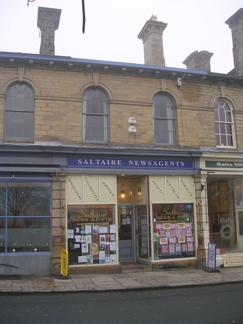 Saltaire Newsagents - Victoria Road