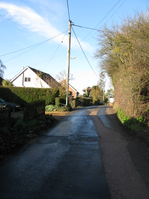 View along Bank Road