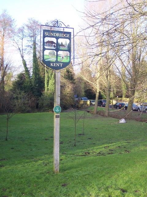 Sundridge Village Sign