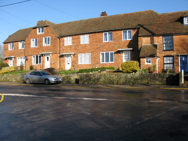 Claphill Cottages on the junction of Frith and Bank Roads