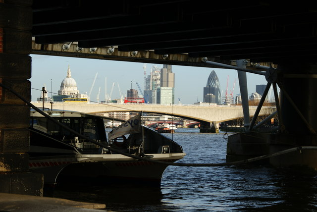 Under Hungerford Bridge (2)