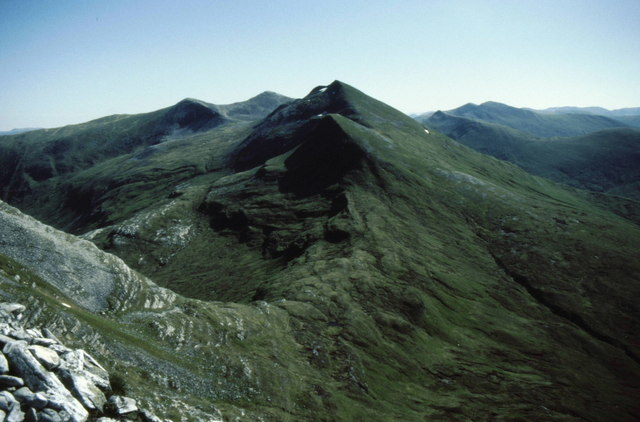 Summit of Sgùrr a' Bhuic