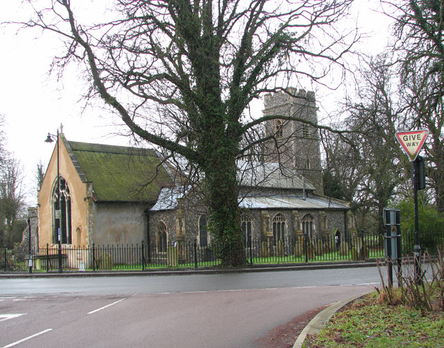 St Andrew's church in Trowse