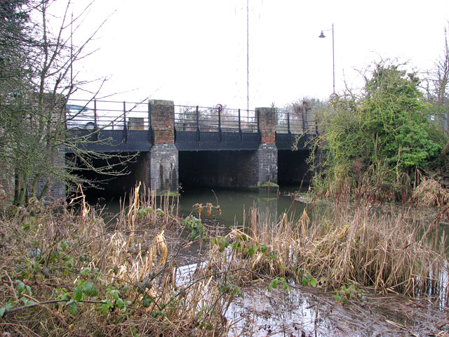 Bridge over a drain