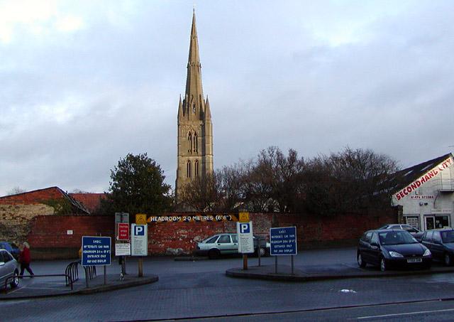 St Wulfram's Church