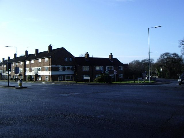 Penns Court, corner of Penns Lane