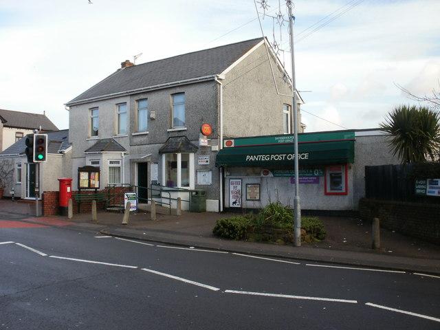 Panteg Post Office, New Inn