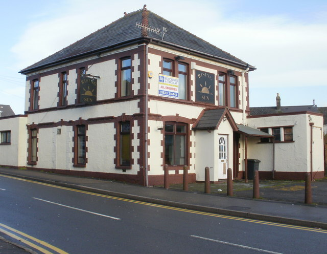 Former Rising Sun pub, New Inn
