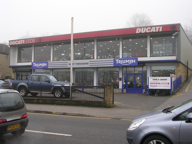 Ducati Motorcycles - Saltaire Road