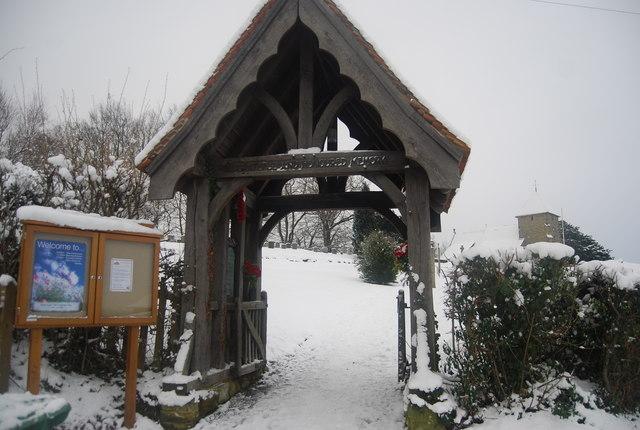 Lych Gate, Bidborough Church