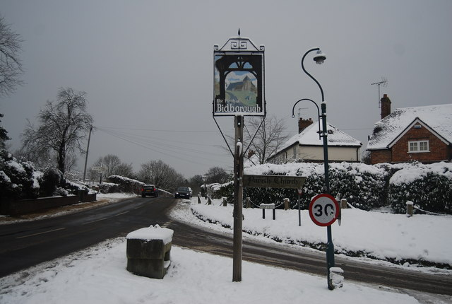 Village Sign, Bidborough