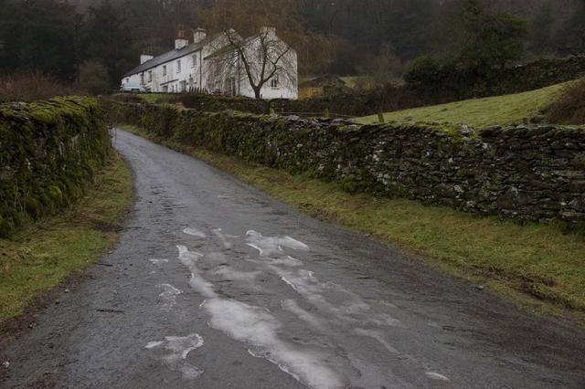 The lane to Great Hartbarrow