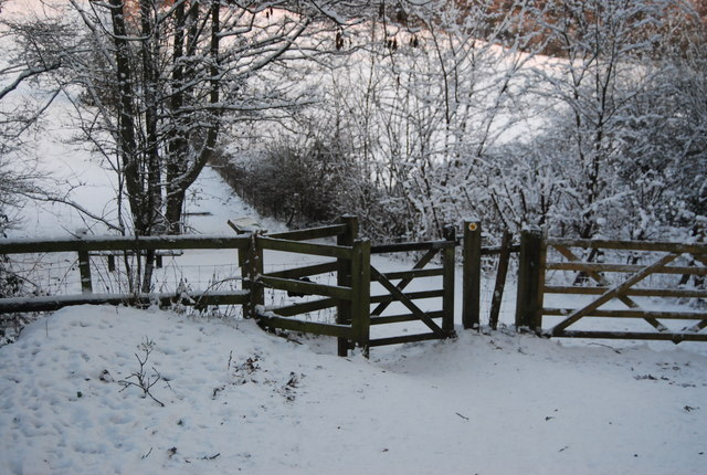 Kissing gate on the Wealdway