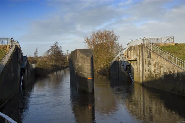 River Wyre flood barrier