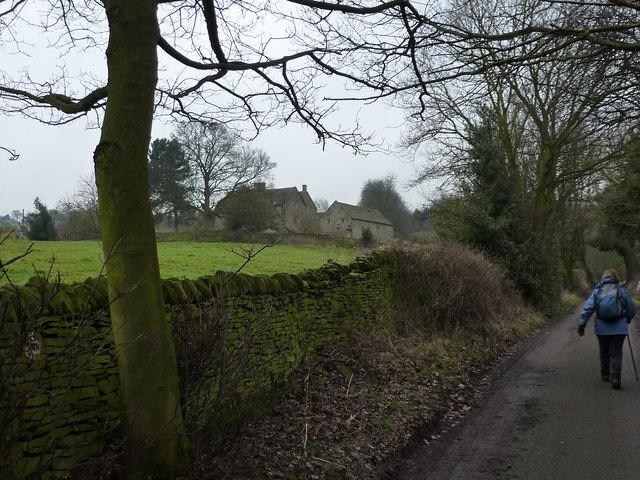 Walking up Johnnygate Lane