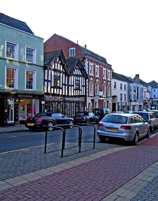 Old buildings in King Street