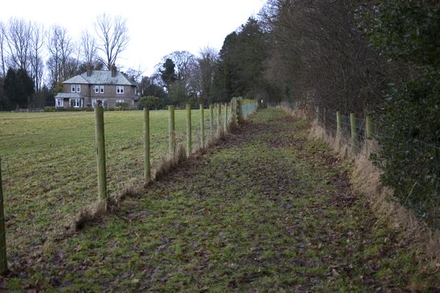 Footpath to All Saints Church Barnacre