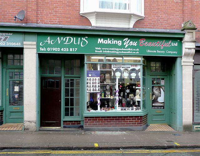 Shop in Worcester Street, Wolverhampton