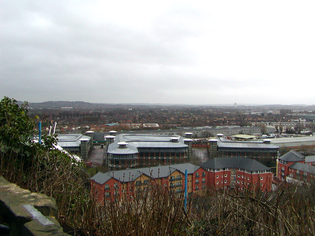 View from the Castle terrace